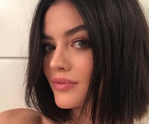 beauty, perfect hair, and short black hair image