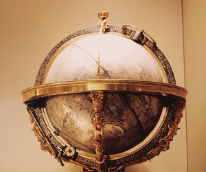 globe, world, and British Museum image