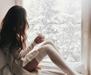 Dream, fashion, and snow image