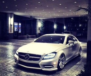 beauty, garage, and mercedes image