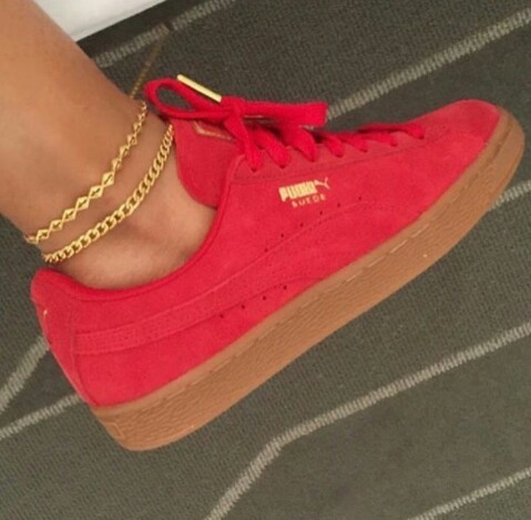 pumas and sneakers pumas red image