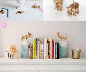 diy, animals, and gold image