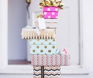 gift, present, and christmas image