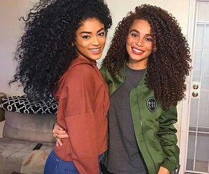 curly hair and hair image