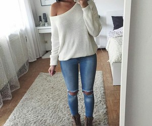 jeans, outfits, and style image