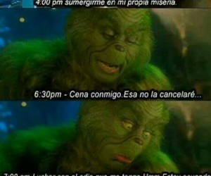 frases, grinch, and christmas image