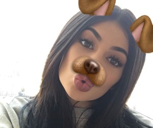 kylie jenner, snapchat, and jenner image