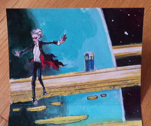doctor who, peter capaldi, and whovian image