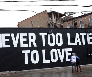 love, quotes, and never image