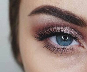 eye make up, naked, and eye shadow image