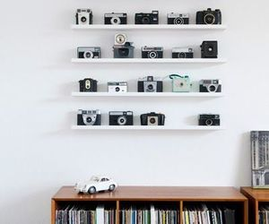 camera, vintage, and room image