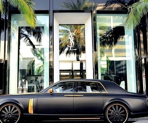 car, luxury, and YSL image