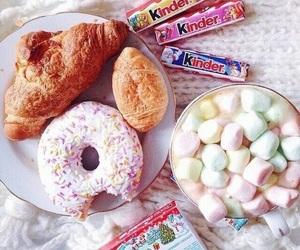 donuts, food, and kinder image