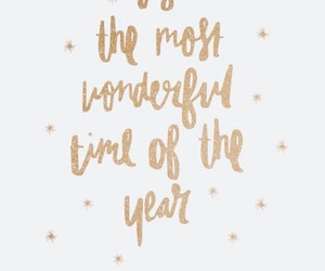 christmas, gold, and quotes image