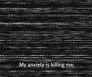 anxiety, grunge, and dark image