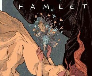 Hamlet and shakespeare image