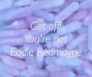 eddie redmayne, photo, and quote image