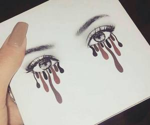 eyes, art, and makeup image