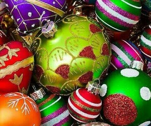 bolas, christmas, and colores image