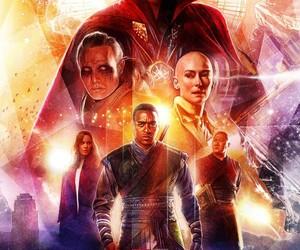Marvel, rachel mcadams, and Tilda Swinton image