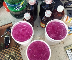 lean, sprite, and syrup image
