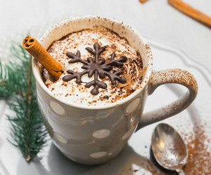 chocolate, christmas, and drinks image