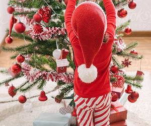 christmas, decoration, and red image