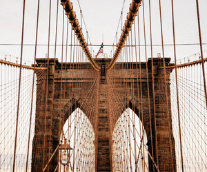 bridge, new york, and aesthetic image