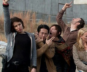 the walking dead, twd, and andrea image
