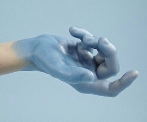 aesthetic, blue, and baby blue image