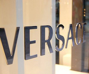 brands, fashion, and Versace image
