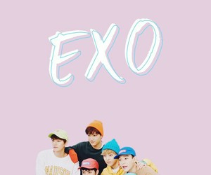 exo, edit, and pastel image