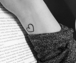 adorable, aww, and black ink image