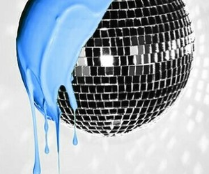 background, disco, and disco ball image