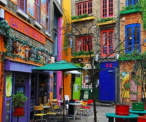 london, colors, and colorful image