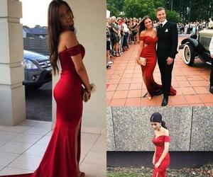 girl, prom dress, and prom dresses image