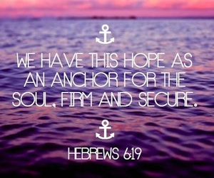 anchor, hope, and quotes image