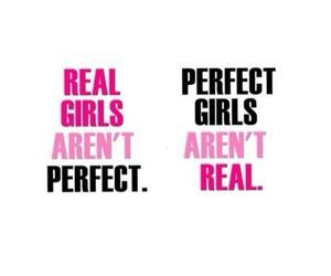 girl and real image