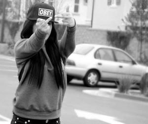 black, girl, and obey image