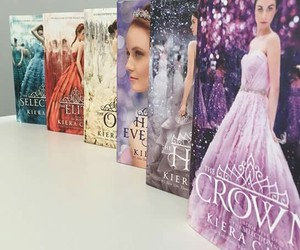 books, kieracass, and theselectionseries image