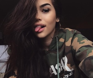 maggie lindemann, gorgeous, and thrashed image