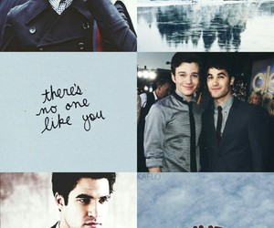 glee, blue, and love i s love image
