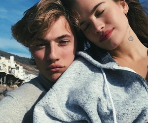 couple, Relationship, and lucky blue smith image