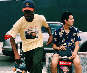 aesthetic, cyber, and street wear image