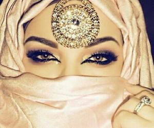arab, beautiful, and eyes image