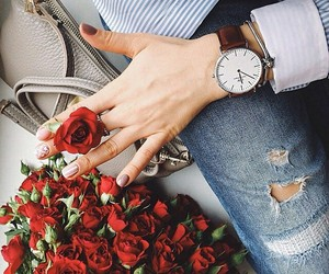 roses and watch image