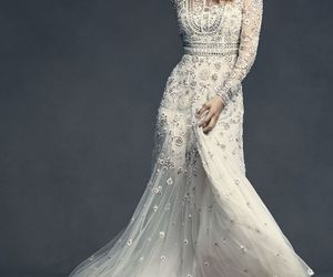 beautiful, bride, and gowns image