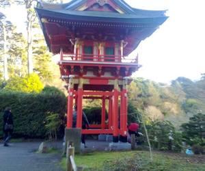 san francisco and japanese tea garden image