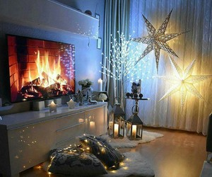 christmas, home, and light image