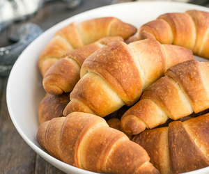 bread, yeast, and crescent roll image